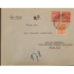 A) 1930, BRAZIL, CONDOR, FROM SAO FRANCISCO TO RIO DE JANEIRO, AIRMAIL, POSTAL AIR SERVICE AND COMMERCE