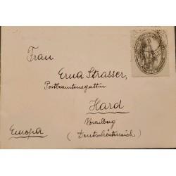 A) 1931, BRAZIL, FROM PEREIRAS TO GERMANY, CENTENARY OF PEREIRA STAMP