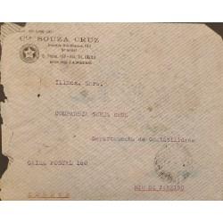 A) 1937, BRAZIL, VIA CONDOR, FROM PERNAMBUCO TO RIO DE JANEIRO, AIRMAIL