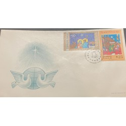 A) 1982, CHILE, FDC, CHRISTMAS, XF