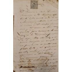 A) 1874, SPAIN, TRADE BOOKS, 50C. PECETA, STAMP