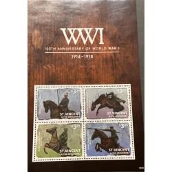 M) 2008 ST. VICENT & THE GRANADINES, WWI 100TH ANIVERSARY OR WORLD WAR I 1914 – 1918,
