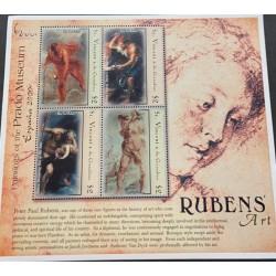 M) 2001 ST. VICENT & THE GRANADINES, PAINTINGS OF THE PRADO MUSEUM ESPANA 2000, BY PETER PAUL RUBENS, RUBENS' ART