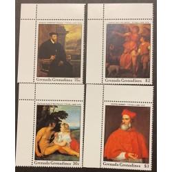 M) 2015 GRENADA GRENADINES, TITIAN C. 1488 – 1576,