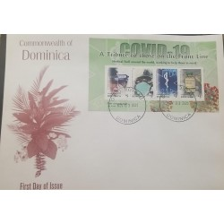 M) 2020, DOMINICA, COVID – 19, A TRIBUTE TO THOSE ON THE FRONT LINE