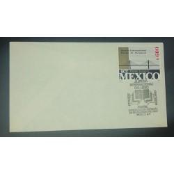 A) 1990, MEXICO, BRIDGE OF ALCANTARA INTERNATIONAL AWARD, SPECIAL CANCELLATION XI INTERNATIONAL BOOK FAIR