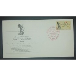 A) 1997, MEXICO, POET, ANDRES ELOY BLANCO, FDC, XF
