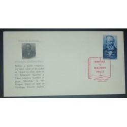 A) 1997, MEXICO, FDC, CENTENARIO DE LA MUERTE DEL POETA GUILLERMO PRIETO 1818-1897, XF