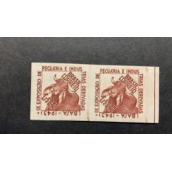 L) 1943 BRAZIL, PROOFS, BULL, CATTLE RAISING, XF