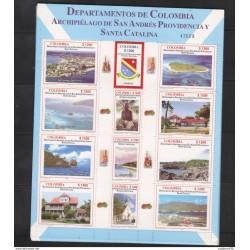 A) 2005 COLOMBIA, DEPARMENT - ARCHIPIELAGO SAN ANDRES PROVIDENCIA Y SANTA CATALINA,