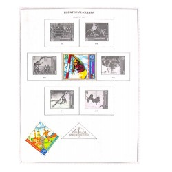 M) 1972, EQUATORIAL GUINEA, OLYMPIC GAMES, GERMANY, III TRIUMPHAL YEAR,