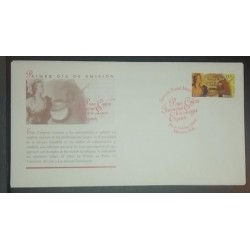 A) 1997, MEXICO, FDC, NATIONAL CONGRESS OF THE SPANISH LANGUAGE, XF