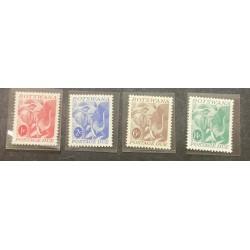 M) 1986, BOTSWANA, AFRICA, POSTAGE DUE, ART, ELEPHANT