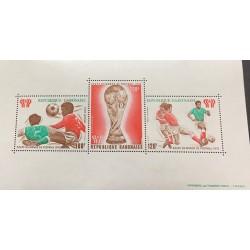 M) 1978, GABON, AFRICA, SOCCER, WORLD CHAMPIONSHIP, ARGENTINA, AERIAL