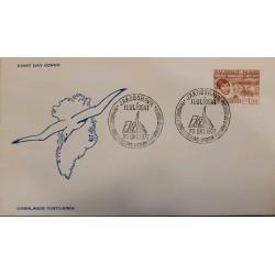 J) 1977 GREENLAND, JORGEN BRONLUND, BIRD, FDC
