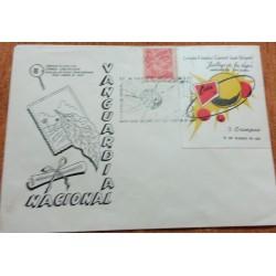 A) 1947, CARIBBEAN, JUAN DELGADO PHILATELIC CIRCLE, TOBACCO STAMP, XF