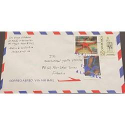 M) 1994, COSTA RICA, MARINE FAUNA, RUBY STAR, OPHIODERMA RUBICUNDUM, L ANNIVERSARY OF THE GUANACASTE INSTITUTE