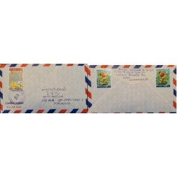 A) 1978, GUATEMALA, SOCCER, AIRMAIL, COVER SHIPPED TO FINLAND