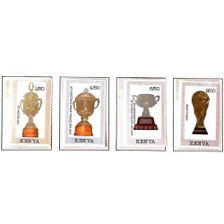 A) 1990, KENYA, SOCCER, WORLD CHAMPIONSHIP ITALY: MOI CUP, EASTERN CARIBBEAN AND CENTRAL AMERICA