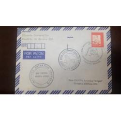 A) 1990, URUGUAY, AIRMAIL, ARTIGAS ANTARCTIC SCIENTIFIC BASE, XF, GRAL RIVERA STAMP