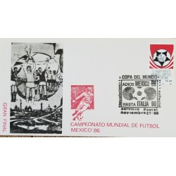 J) 1986 MEXICO, II WORLD YOUTH SOCCER CHAMPIONSHIP MEXICO, FDC
