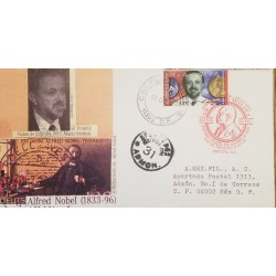 J) 1996 MEXICO, NOBEL PRIZE OF CHEMISTRY, MARIO MOLINA, THE TESTAMENT OF ALFRED NOBEL, MULTIPLE STAMPS