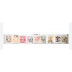 L) 1914 - 1937 JAPAN, WATERMARKED, JAPANESE EMPIRE STAMPS, CHRYSANTHEMUM, TAZAWA, COAT OF ARMS, 3S ROSE