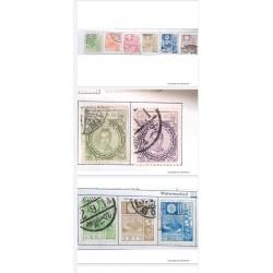 "L) 1922 - 1937 JAPAN, SCOTT 188 5y GRAY GREEN,""EMPRESS JINGO"", SAKURA, 10Y, PRUPLE, WATERMARKED, MT. FUJI"