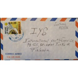 A) 1985, GUATEMALA, FOREST PROTECTION, LETTERS SENT TO FINLAND