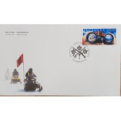 A) 2003, CANADA, THE CANADIAN RANGERS, FDC, YELLOWKNIFE, XF