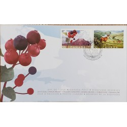 A) 2005, CANADA, BIOSPHERE RESERVES, JOINT WITH IRELAND, FDC, LAKES WATERTON NATIONAL PARK