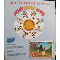 A) 1997, GRENADA, MICKEY MOUSE, INTERNATIONAL STAMP EXHIBITION PACIFIC 97, SAN FRANCISCO – U.S.A