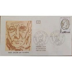 J) 1944 FRANCE, MAX JACOB 1876-1944 DE APRES PABLO PICASSO, FDC