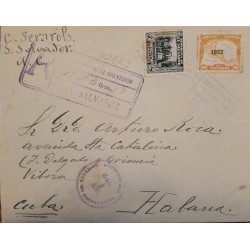 A) 1932, EL SALVADOR, CONSPIRACY OF 1811, LETTER SENT FROM SAN SALVADOR TO HAVANA,