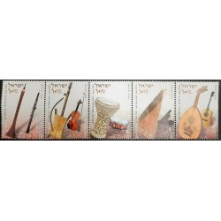 A) 2010, ISRAEL, MIDDLE EAST MUSICAL INSTRUMENTS ZURNA AND OBOE, RABBABA AND VIOLIN, DARBUKA AND DRUM