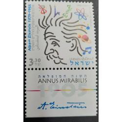 A) 2005, ISRAEL, INTERNATIONAL YEAR OF PHYSICS, ALBERT EINSTEIN, NOBEL AWARD WINNER, MULTICOLORED