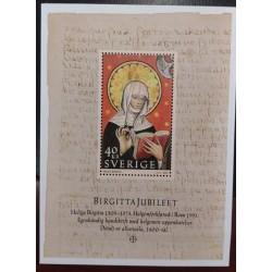 L) 2003 SWEDEN, BIRGITTA JUBILEE, RELIGION, HOLY MNH