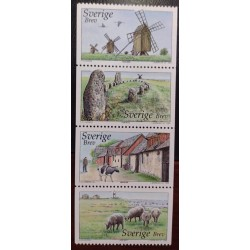 L) 2003 SWEDEN, NATURE, ANIMALS, LIGTHOUSE, ARCHITECTURE, MNH
