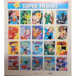 J) 2005 UNITED STATES, COMICS, SUPERHEROES, WONDERFUL WOMAN, SUPERMAN, BATMAN, GREEN LANTERN