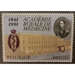 A) 1991 BELGIUM SNAKE, DOCTOR, ROYAL ACADEMY OF MEDICINE, MNH