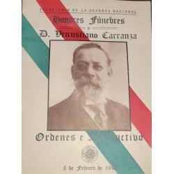 A) 1942, MEXICO, VENUSTIANO CARRANZA BOOK, XF
