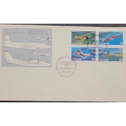 L) 1981 CANADA, OTTAWA, AVIACION, AIRPLANES, FDC.