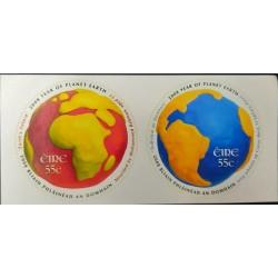 A) 2008, IRELAND, INTERNATIONAL YEAR OF PLANET EARTH, SELF-ADHESIVE