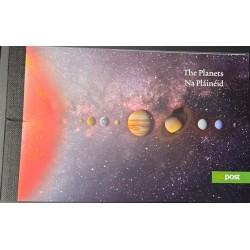 A) 2008, IRELAND, POSTCARD, PLANETS, ASTROPHYSICS, MNH