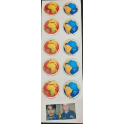 A) 2008, IRELAND, INTERNATIONAL YEAR OF PLANET EARTH, SELF-ADHESIVE, WITH STUDENT STAMPS, MNH