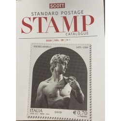 A) SCOTT CATALOG, COUNTRIES FROM H TO 8 I, NEW FROM PACKAGE