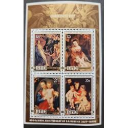 SA) 1977 NIUE, CHRISTMAS, CENTENARY OF THE BIRTH OF PETER PAUL RUBENS