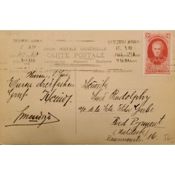 A) 1910 ARGENTINA, POSTCARD, CENTENARY OF THE MAY REVOLUTION, 1.810 - 1.910
