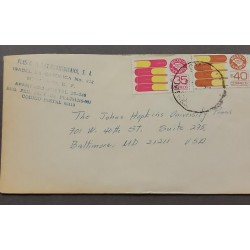 SL) MEXICO, MEXICO EXPORTS, BOOKS, SCIENCE, ART, LETTER CIRCULATED FROM MEXICO TO USA.