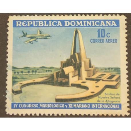 SL) DOMINICAN REPUBLIC, ARCHITECTURE, CHURCH, BASILICA, IV MARIOLOGICAL AND XI MARIANO